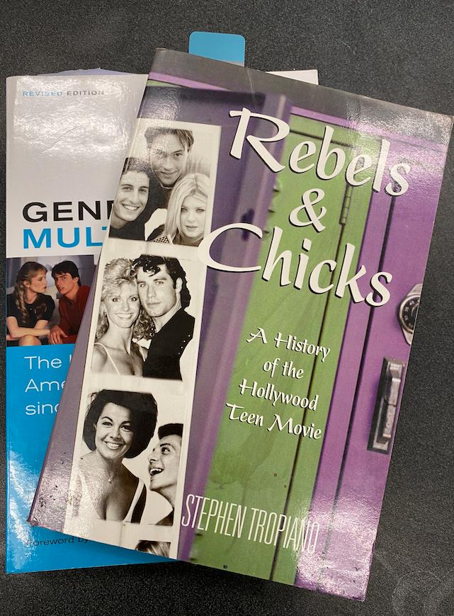 The teacher, Lauren Sullivan, is using these textbooks in her class, Teen Film.